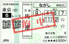 東京新馬戦5R