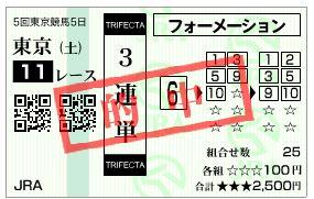 【ジャパンカップ 2016】血統予想・最強世代ディーマジェスティ君臨か!!・・・マイルCS回顧【3連単的中】