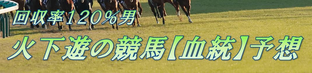 【血統】火下遊の競馬予想ブログ【データ分析】